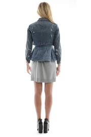 Current Air Layered Denim Jacket - Front full body