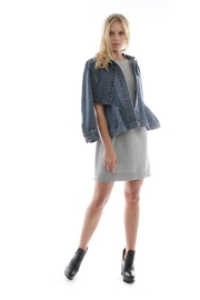 Current Air Layered Denim Jacket - Back cropped