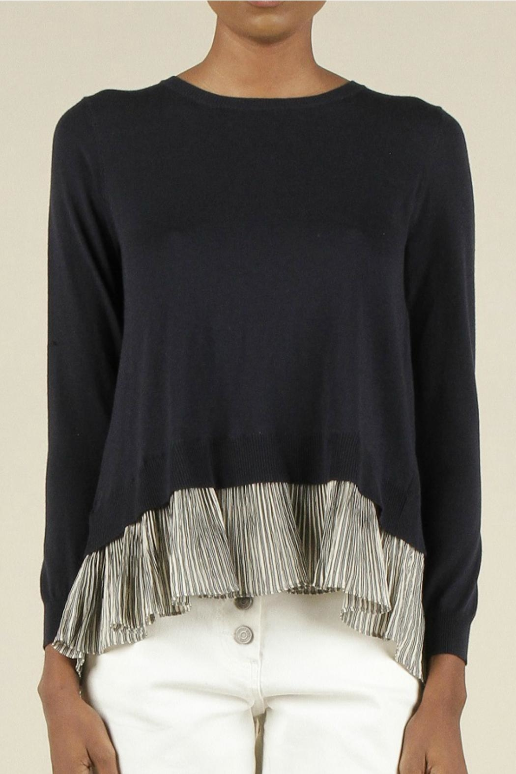 Current Air Layered Look Sweater - Main Image