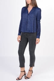 Current Air Loveless V-Neck Blouse - Front cropped