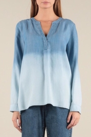 Current Air Ombre Washed Top - Product Mini Image