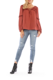 Current Air Pull Over Blouse - Product Mini Image