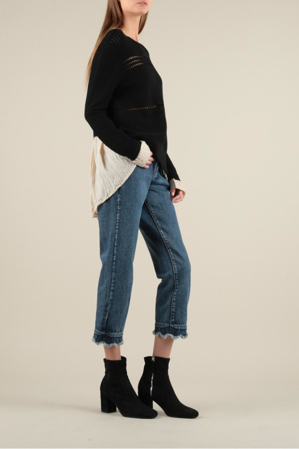 Current Air Shirt Layer Sweater - Side Cropped Image