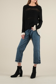 Current Air Shirt Layer Sweater - Front full body