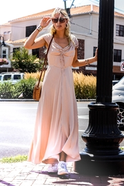 Current Air Silky Cap-Sleeve Dress - Front cropped