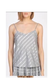 Current Air Silver Tank - Front cropped