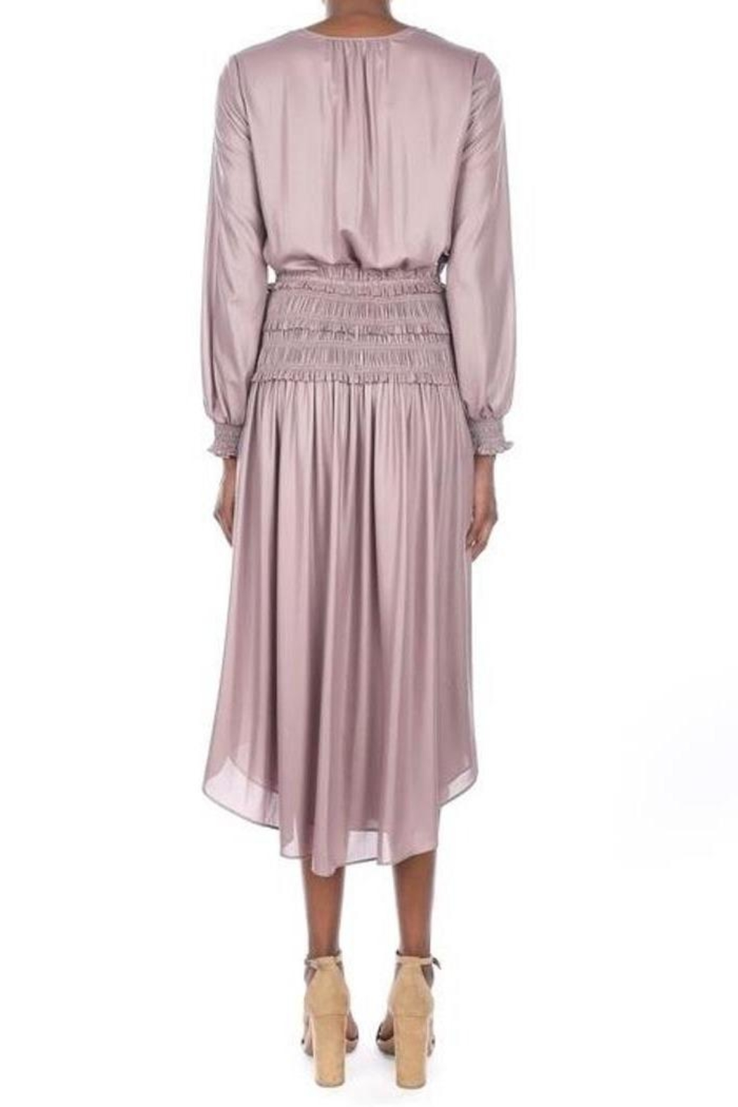 Current Air Smokey Amethyst Dress - Side Cropped Image