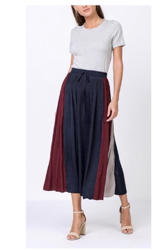 Current Air Stripe Maxi Skirt - Product List Image