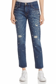 Current Elliott Pearl Destroyed Jeans - Front cropped