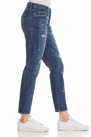 Current Elliott Pearl Destroyed Jeans - Side cropped
