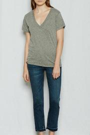 Current/Elliott The V-Neck Shirt - Product Mini Image