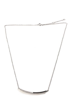 Shoptiques Product: Curved Bar Necklace