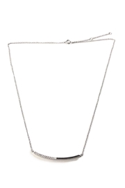 Lets Accessorize Curved Bar Necklace - Product Mini Image