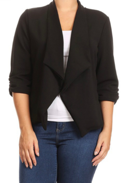 Shoptiques Product: Curvy Basic Business Babe Blazer