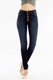 KanCan Curvy Fit Jean - Front full body