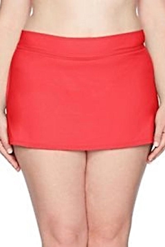 Anne Cole Signature Curvy Girl Skirt - Alternate List Image