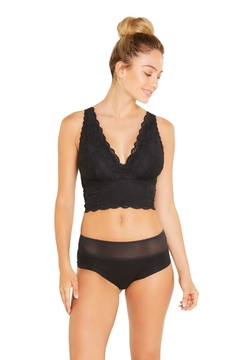 Cosabella Curvy Plungy Bralette - Product List Image