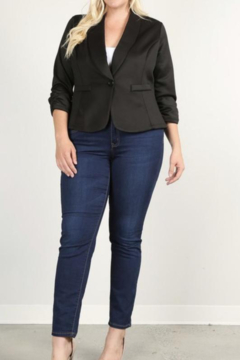 Kindred Mercantile Curvy Waist length Blazer - Product List Image