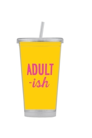 Paparte Personalized Gifts Customized Caption Tumbler - Front cropped