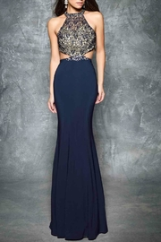 Nina Canacci Cut Away Gown - Front cropped