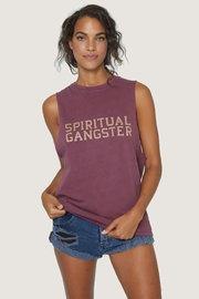 SPIRITUAL GANGSTER Cut-Off Band Tank - Product Mini Image