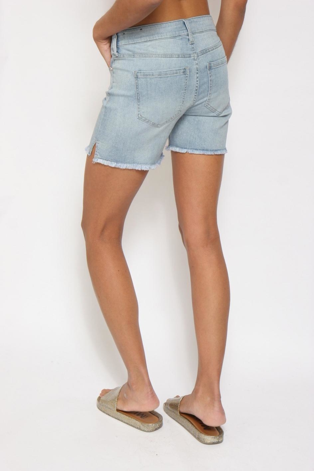 Liverpool Jean Company Cut-Off Jean Shorts - Side Cropped Image