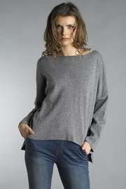 Tempo Paris Cut-Out Bow Sweater - Product Mini Image