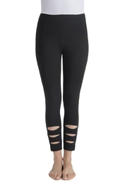 Lyssé Cut-Out Cropped Leggings - Product Mini Image