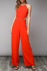 Do & Be Cut-Out Detail Jumpsuit - Product Mini Image