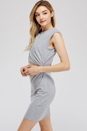 blue blush Cut Out Dress - Front full body