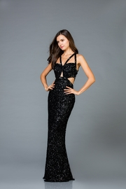Scala Cut Out Gown - Product Mini Image