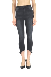 Tractr Blu Cut-Out Hem Skinny - Front cropped