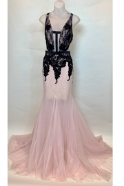 ALBERTO MAKALI LTD CUT OUT LACE GOWN - Product Mini Image