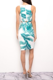 Blithe  Cut-Out Leaf Dress - Front full body