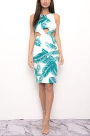 Blithe  Cut-Out Leaf Dress - Product Mini Image