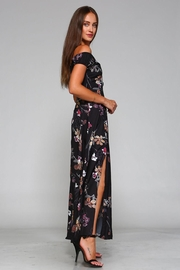 Racine Cut-Out Maxi Dress - Front full body