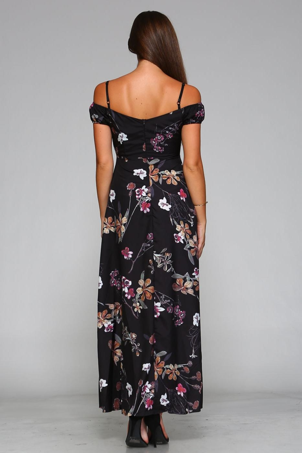 Racine Cut-Out Maxi Dress - Side Cropped Image