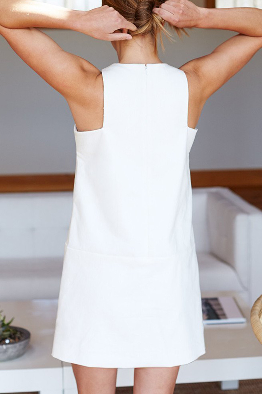 Emerson Fry CUT OUT MOD SHIFT DRESS - Front Full Image
