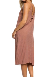 Anama Cut-Out Peephole Dress - Front full body