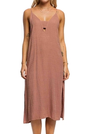 Anama Cut-Out Peephole Dress - Front cropped
