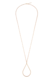 Riah Fashion Cut-Out Pendant Necklace - Product Mini Image