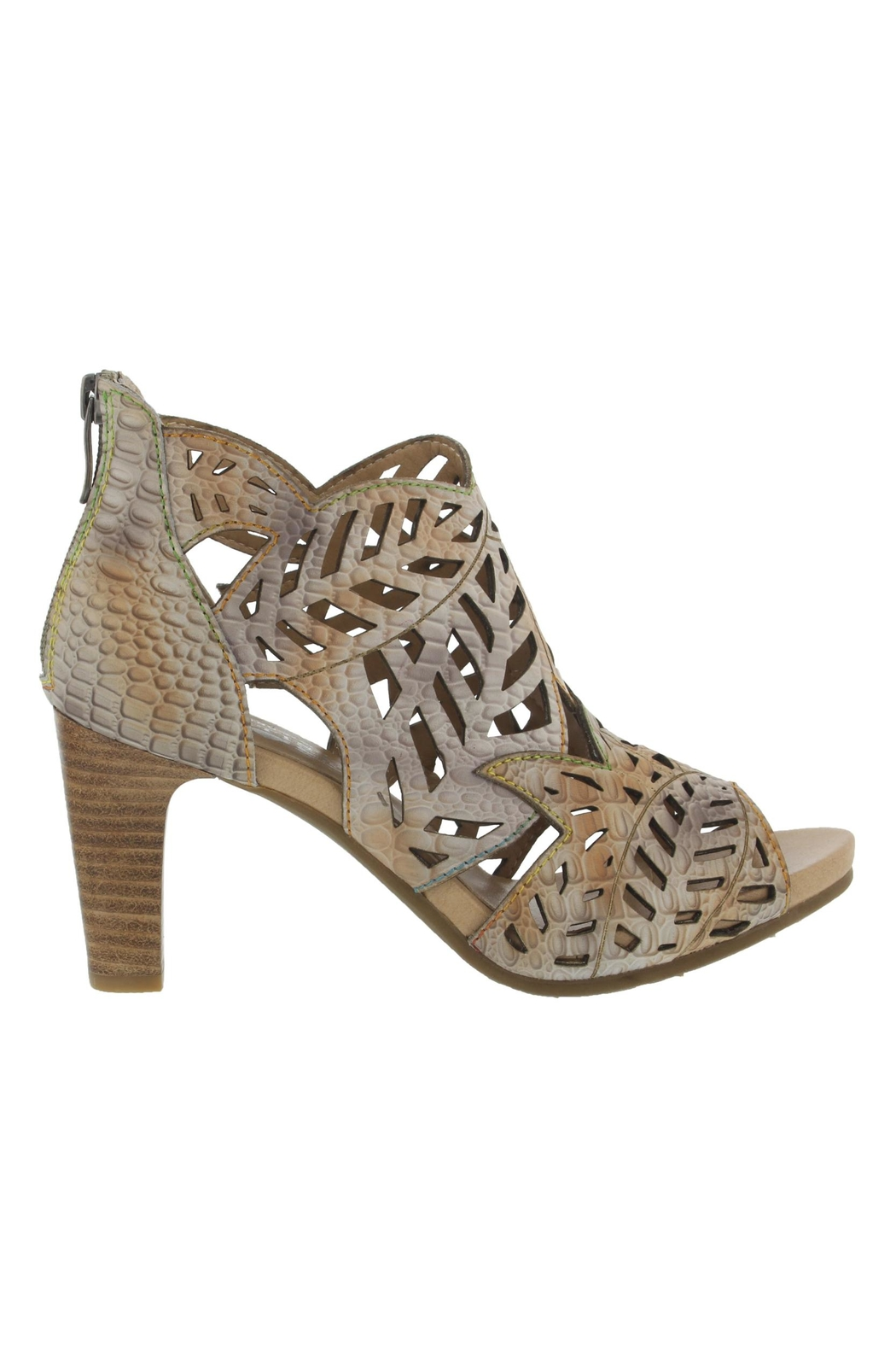 Spring Footwear Cut  Out Pump - Side Cropped Image