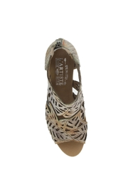 Spring Footwear Cut  Out Pump - Front full body