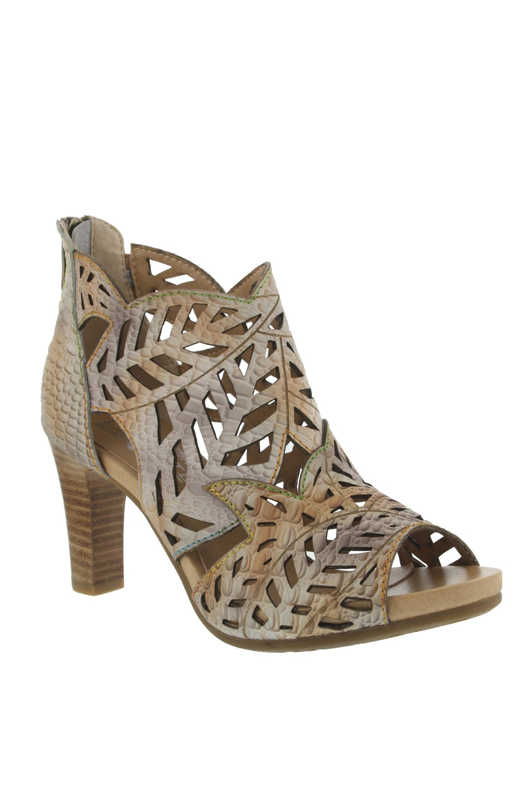 Spring Footwear Cut  Out Pump - Front Cropped Image