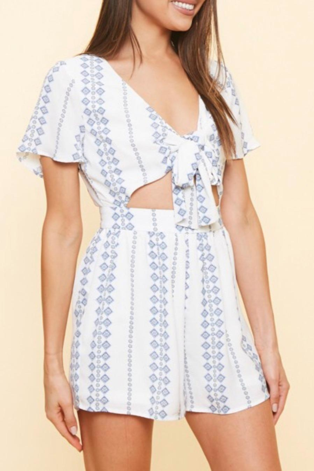 Available Cut Out Romper - Main Image