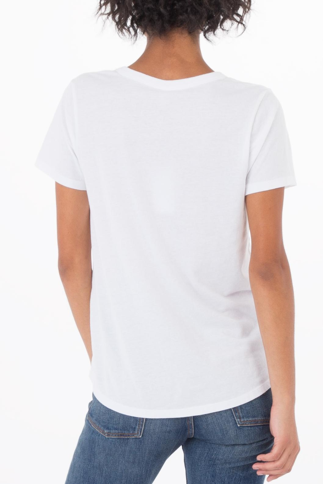 z supply Cut Out Tee - Back Cropped Image