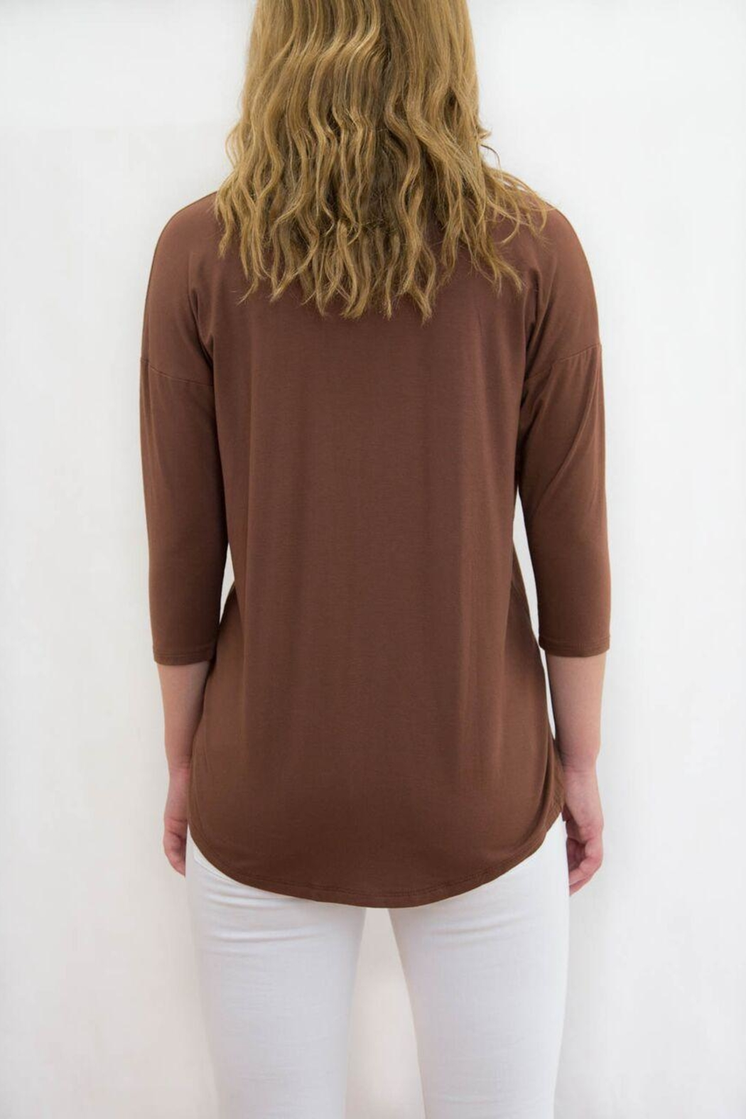 lisette L Cut Out Top - Front Full Image