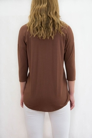 lisette L Cut Out Top - Front full body