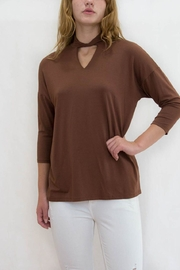 lisette L Cut Out Top - Product Mini Image