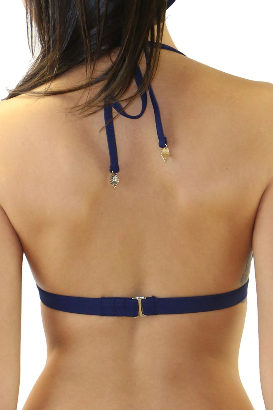 Heat Swimwear Cut Out Triangle - Side Cropped Image